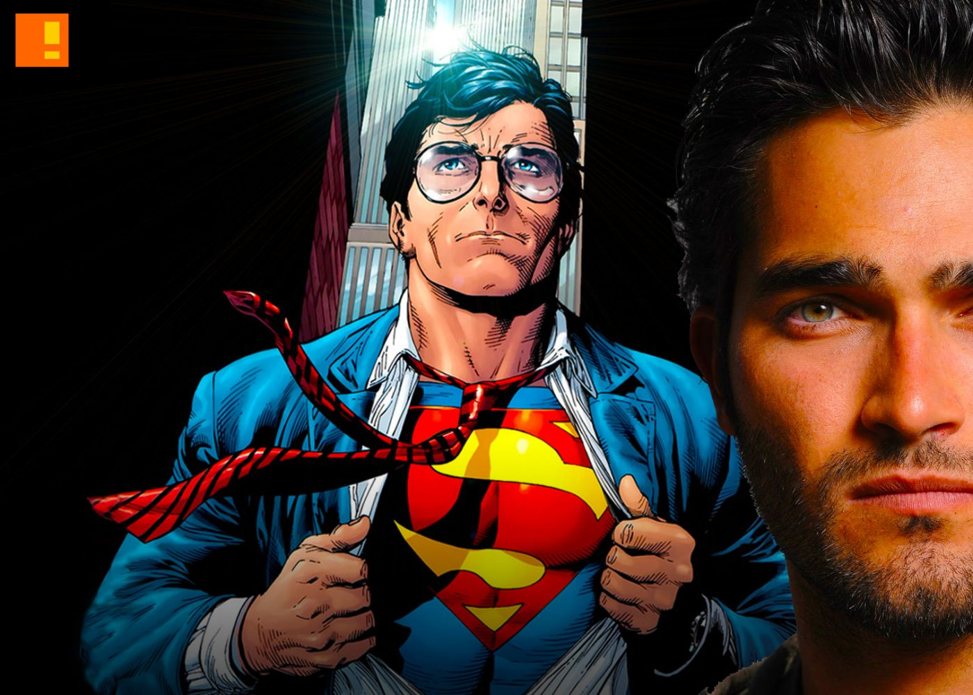 TYLER HOECHLIN, SUPERMAN, casting , cast, supergirl, cw, cbs, the cw network, the cw, entertainment on tap, the action pixel, superman, supergirl, dc comics,