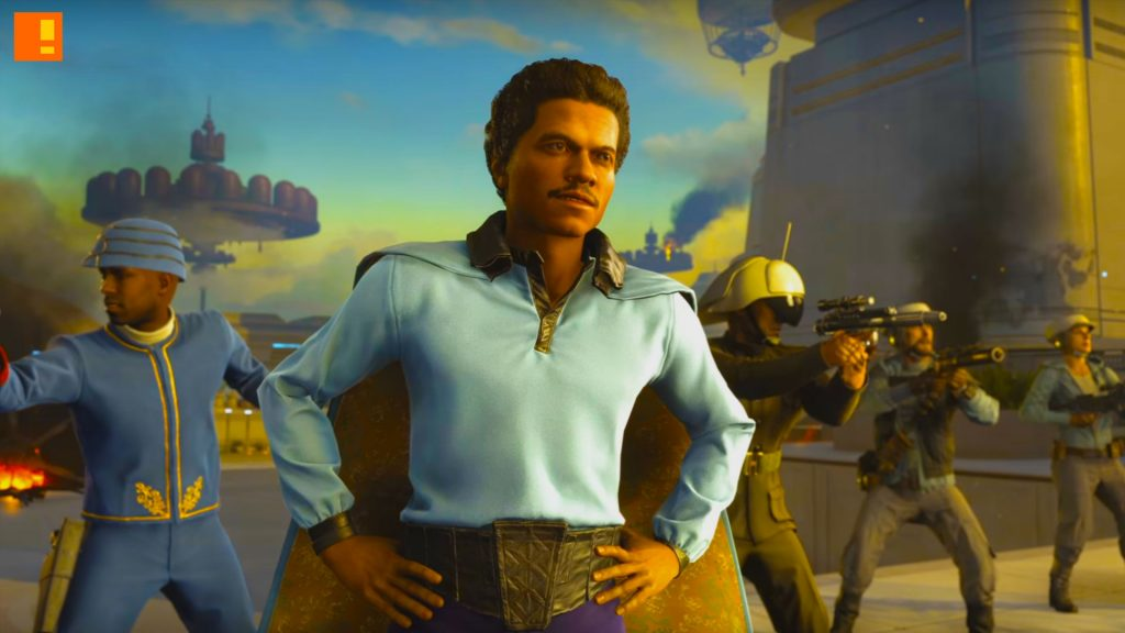 PS4, PC, Xbox One,bespin, ea, star wars, cloud city, cloud city of bespin, lando , ee-4 blasters, X-8 Night Sniper, electronic arts, Lando Calrissian, Dengar, dlc, expansion, dice games,