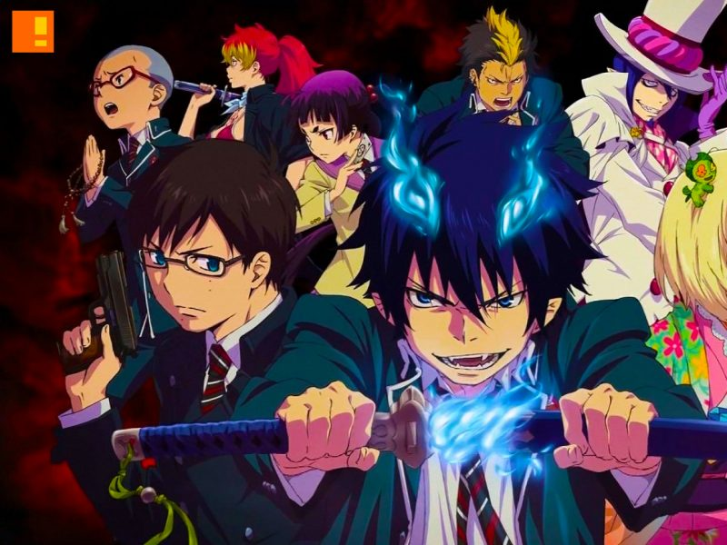 blue exorcist, Shueisha, Jump Square, rin, demon, devil,the action pixel, anime, countdown, timer, manga, anime, ao no, Kazue Katō,