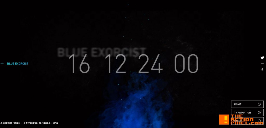 blue exorcist,  Shueisha, Jump Square, rin, demon, devil,the action pixel, anime, countdown, timer, manga, anime, ao no, Kazue Katō,