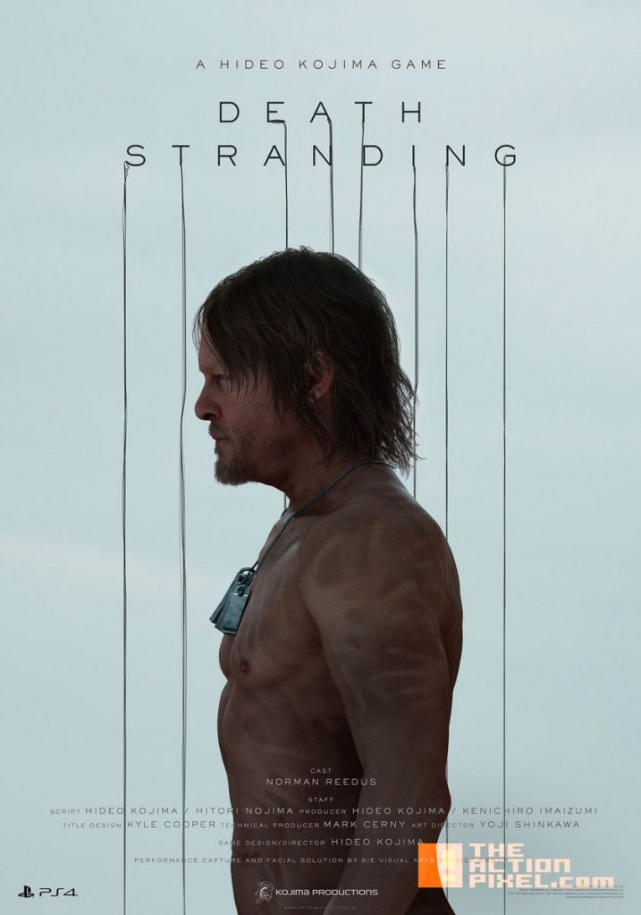 hideo kojima, poster, e3 2016, e3, norman reedus, pt, the action pixel, konami, trailer, the action pixel, @theactionpixel, entertainment on tap