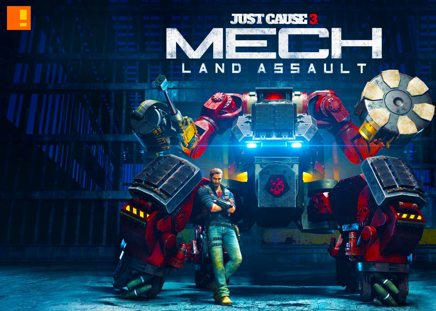 just cause 3, mech land assault, just cause, entertainment on tap, the action pixel
