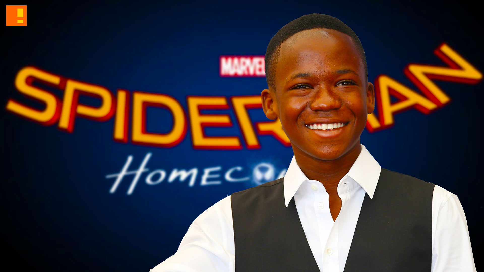 Image result for abraham attah in spiderman