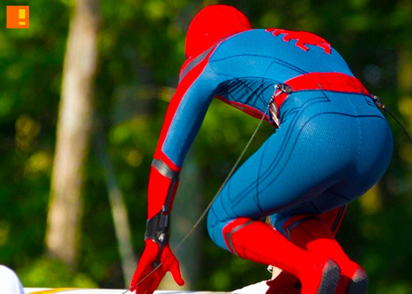 spider-man, spiderman, costume, homecoming, entertainment on tap, the action pixel, @theactionpixel