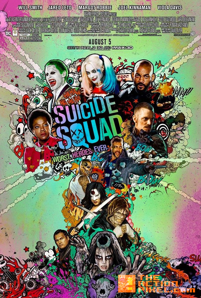 imax, poster, Suicide Squad, wb, warner bros. pictures, warner bros pictures, wb pictures, dc comics, imax 3d, we need them bad,