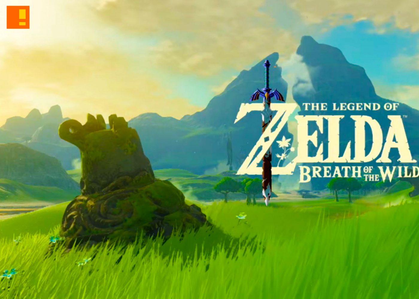 the legend of zelda, breath of the wild, link, zelda, nx, nintendo, gameplay, trailer, e3, e3 2016, e3 expo, the action pixel, @theactionpixel, entertainment on tap
