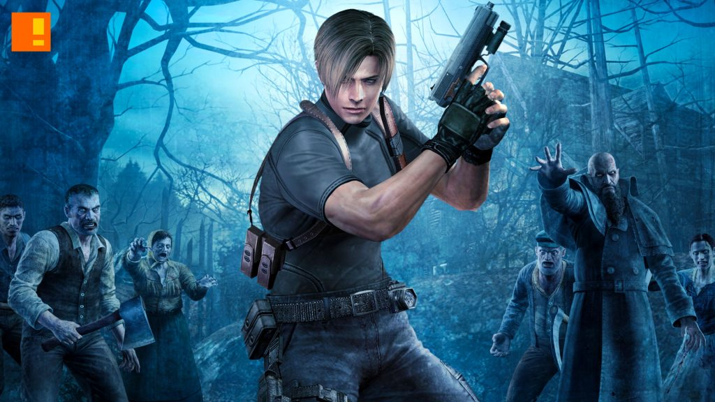Resident evil 4 leon wallpapers
