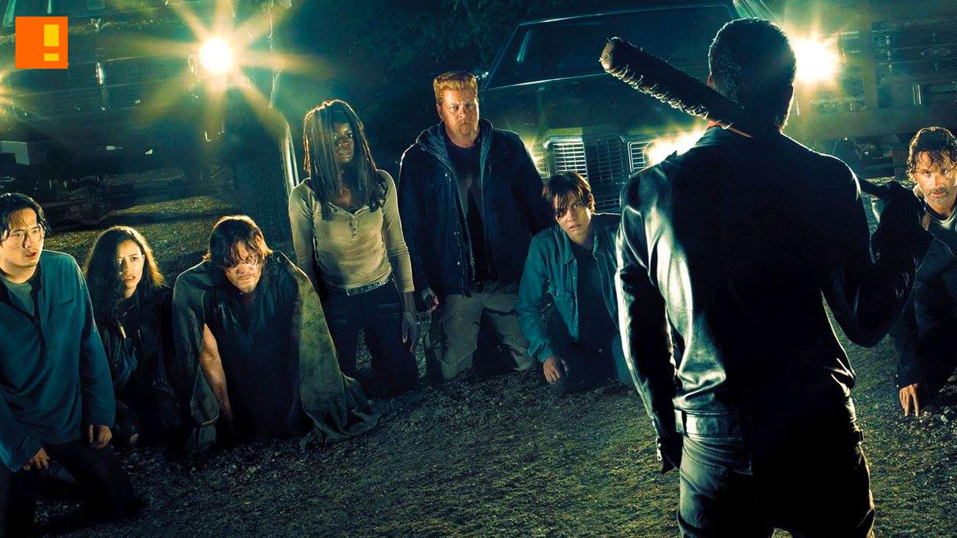 The Walking Dead Season 7 Negan Lucille Key Art Image