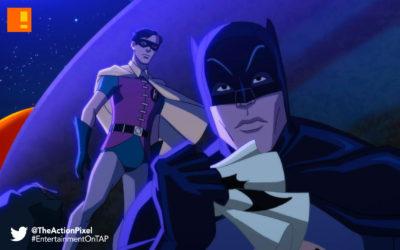 batman: return of the caped crusaders, caped crusaders, batman, dc comics, warner bros. wb animation, animation, robin, adam west, joker, penguin, the riddler, dc comics, dc, gotham, nycc, new york comic con,