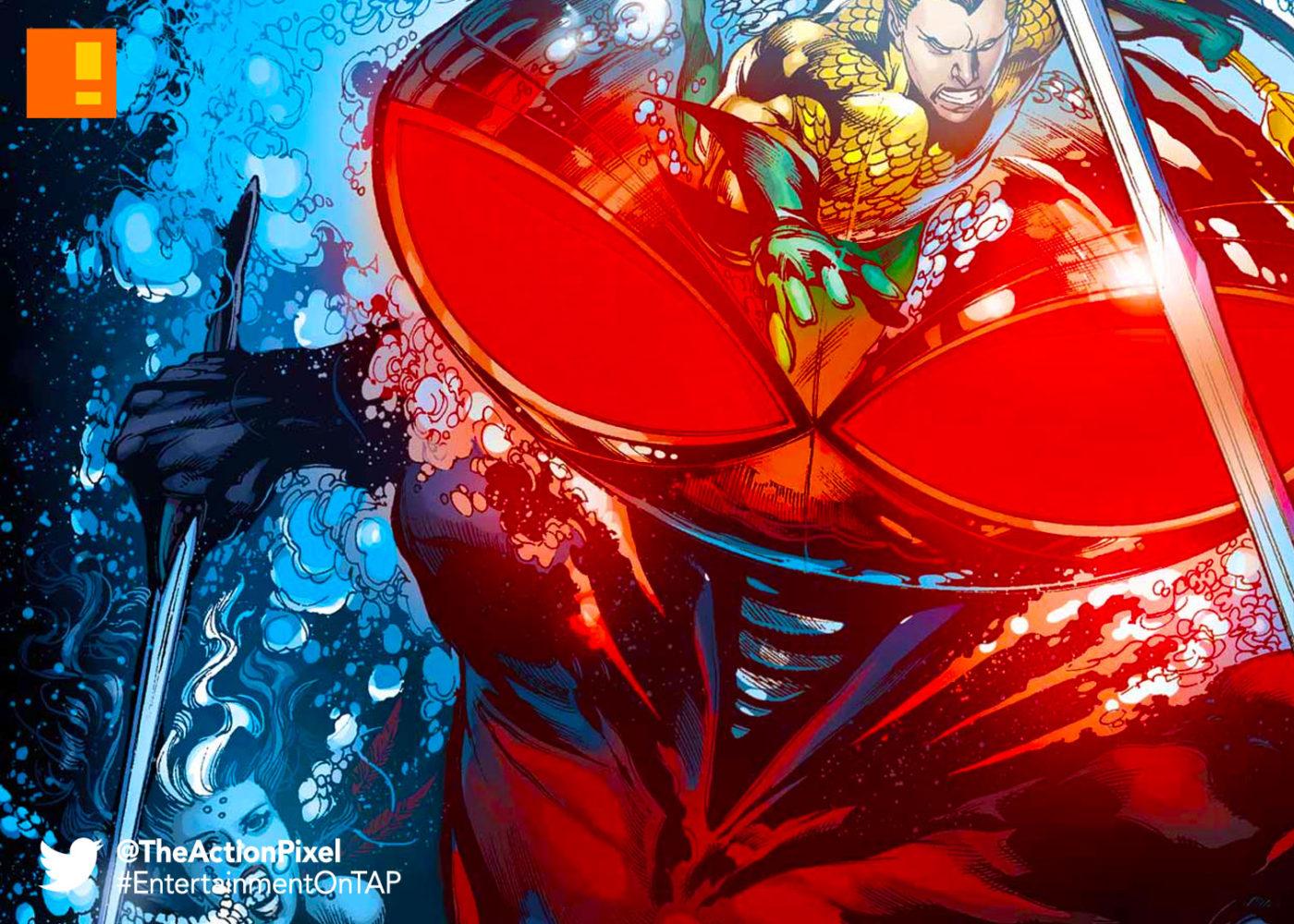 black manta, aquaman, the action pixel, entertainment on tap,dc comics