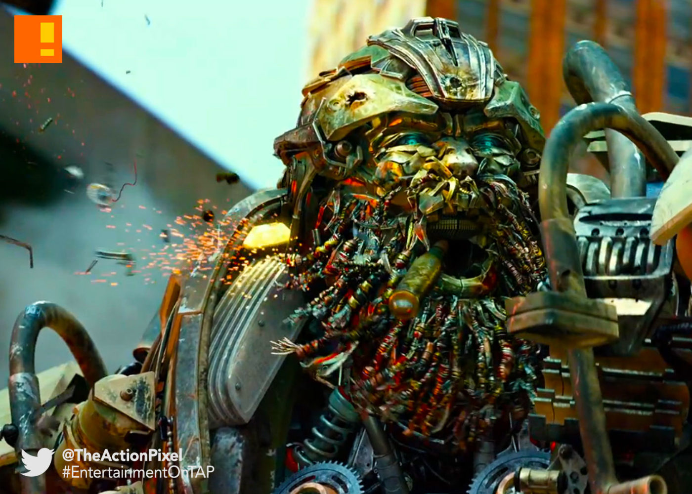 hound, transformers,transformers, The last knight, entertainment on tap, the action pixel, @theactionpixel, autobots, autobot, paramount pictures,
