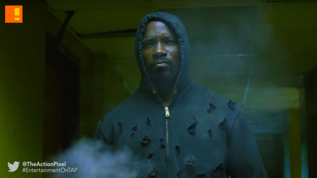 trailer, main trailer, luke cage banner, luke cage, marvel, netflix, the action pixel, mike colter, entertainment on tap, @theactionpixel