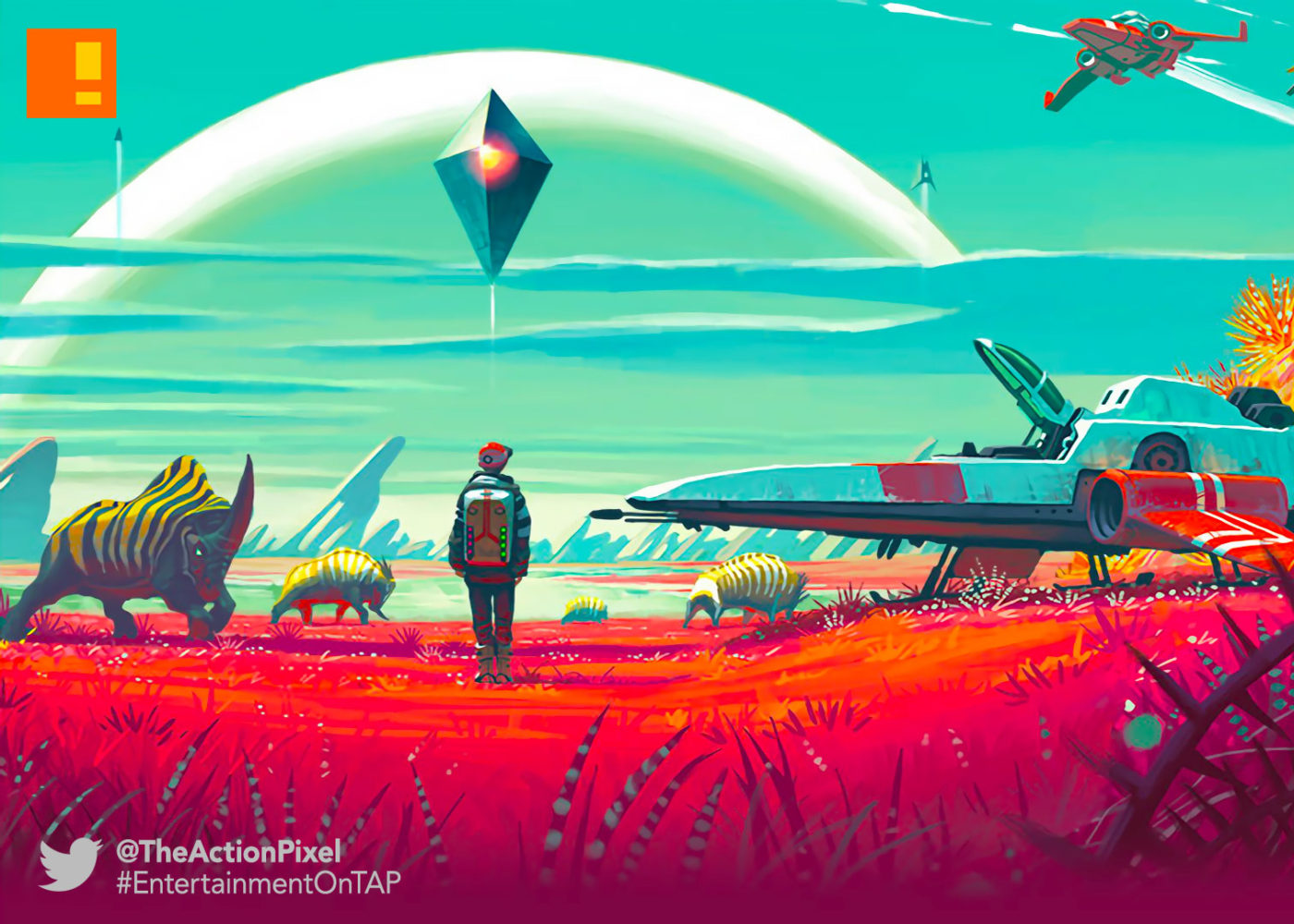 no mans sky, hello games, sean murray, the action pixel, entertainment on tap,