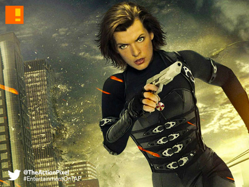 resident evil,milla jovovich,Alice. the action pixel,@theactionpixel