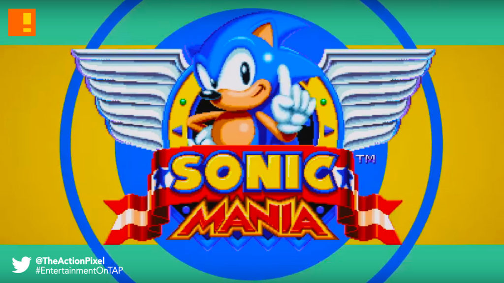 sonic mania, sonic the hedgehog, sega, 25th anniversary
