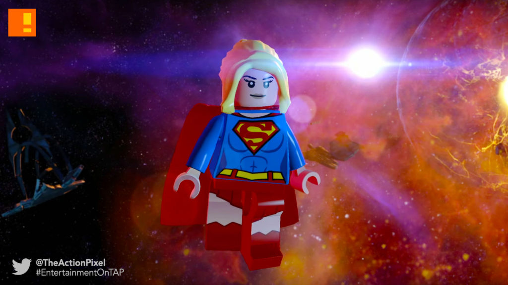 supergirl, lego dimensions, wb games, the action pixel, entertainment on tap,