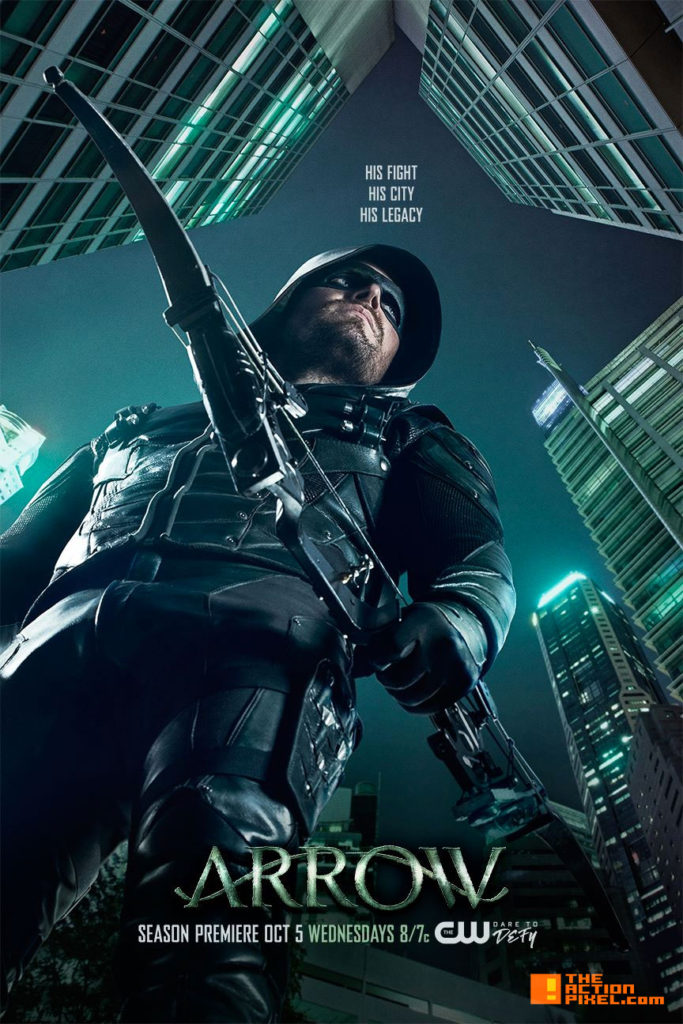 arrow, poster, season 5, the action pixel,entertainment on tap, cw, dc comics, the cw, trailer
