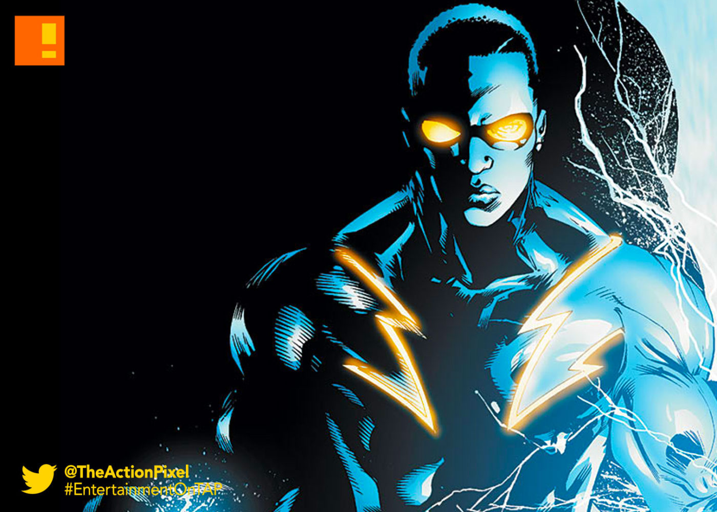 black lightning, DC comics, the action pixel, entertainment on tap
