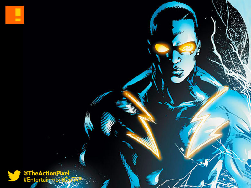 black lightning, DC comics, the action pixel, entertainment on tap