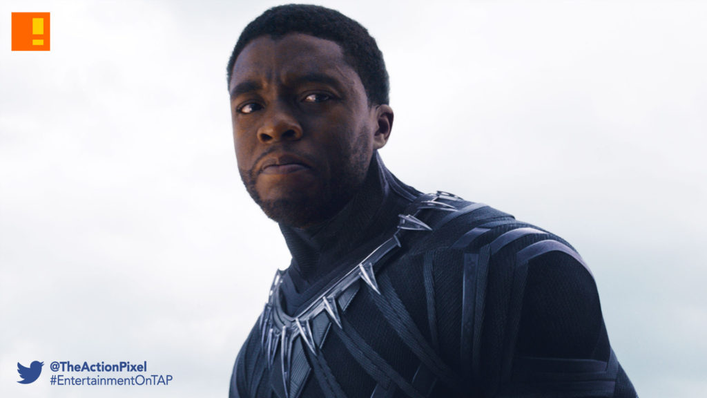 black panther,marvel studios, marvel, comics, chadwick boseman, gritty, black panther, movie, entertainment on tap, civil war, captain america