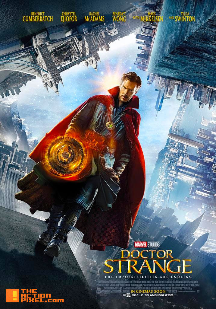 doctor strange, Poster, marvel, the action pixel, entertainment on tap, benedict cumberbatch, marvel, poster, marvel studios,