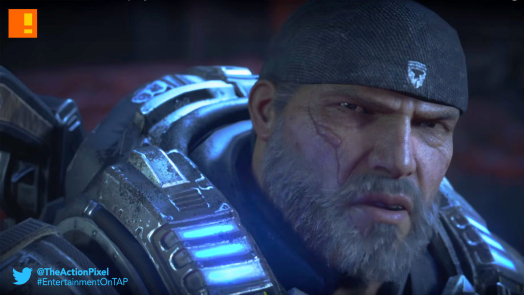 gears of war 4, gears of war, the coalition, fenix, trailer, launch trailer, the action pixel, entertainment on tap