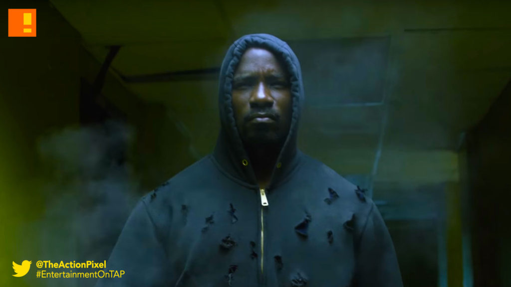 luke cage, streets, trailer, the action pixel, entertainment on tap, netflix, marvel, trailer, power man,