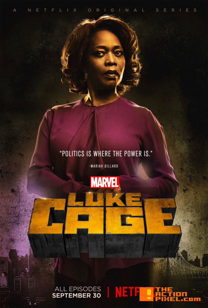 luke cage, marvel, netflix, the action pixel, entertainment on tap, mariah dillard,