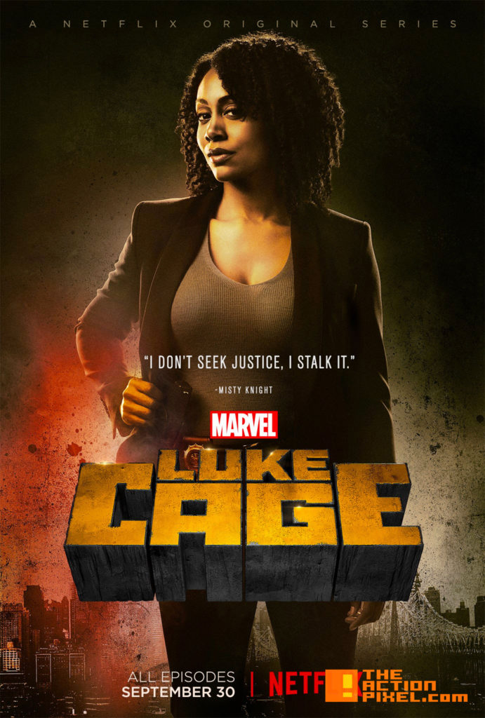 luke cage, marvel, netflix, the action pixel, entertainment on tap, misty knight,