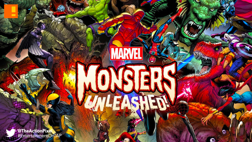 marvel, monsters unleashed, the action pixel, entertainment on tap, the action pixel,