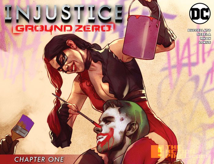 injustice, gods among us, ground zero, dc comics, the action pixel, entertainment on tap