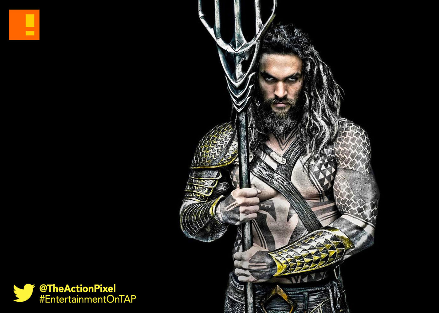 the action pixel, entertainment on tap, jason momoa, aquaman, arthur CURRY, dc comics, dc films, justice league,