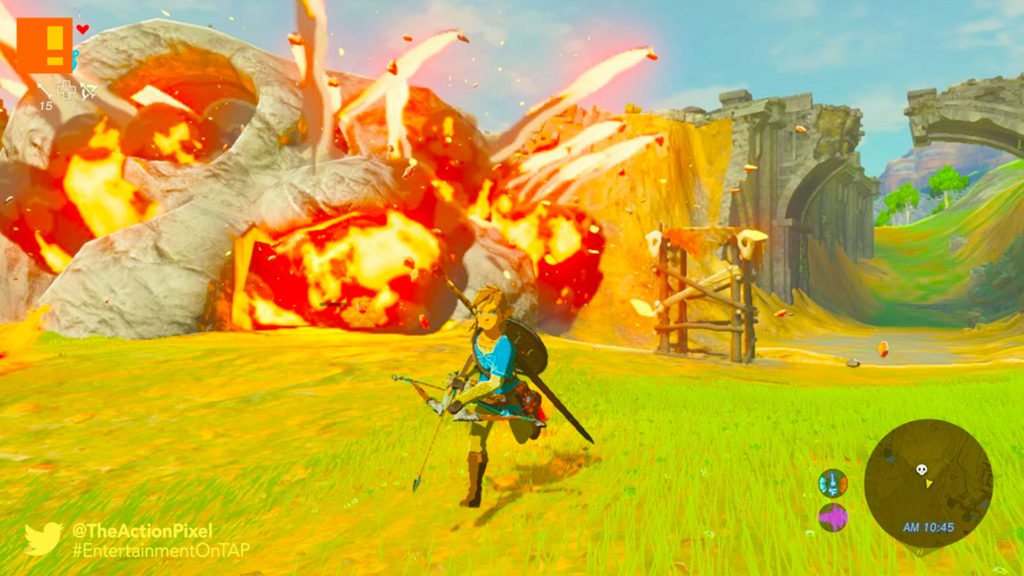 legend of zelda, legend of zelda: breath of the wild, breath of the wild, nintendo, entertainment on tap, the action pixel,link, zelda, nintendo nx