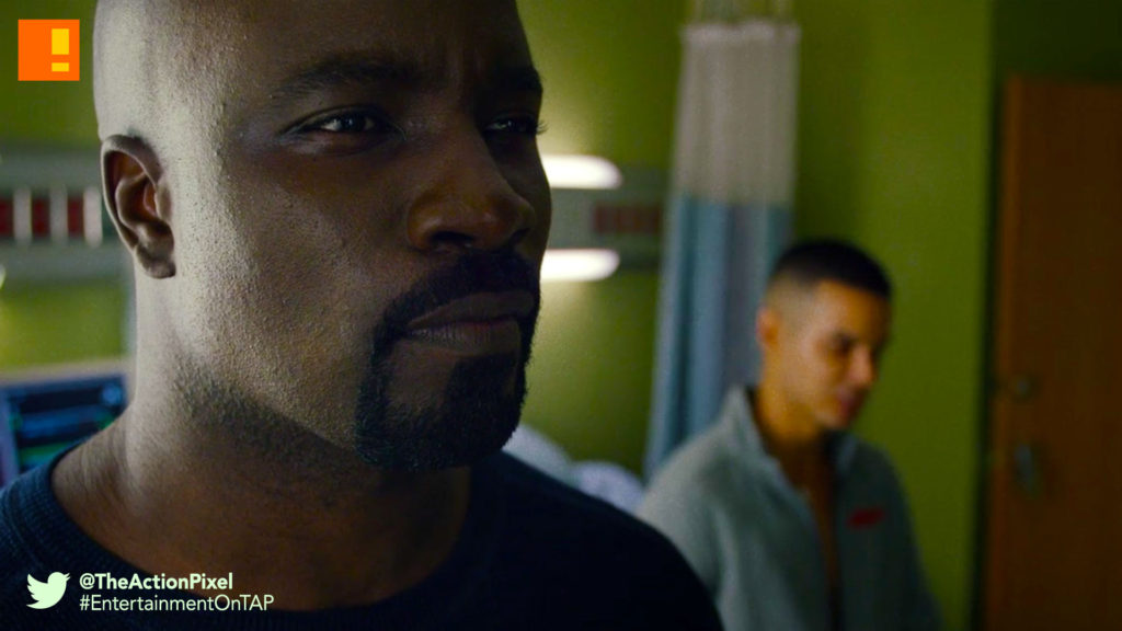 luke, chico, luke cage, S1 e3, REVIEW, TAP REVIEWS, who's gonna carry the weight, the action pixel, entertainment on tap,