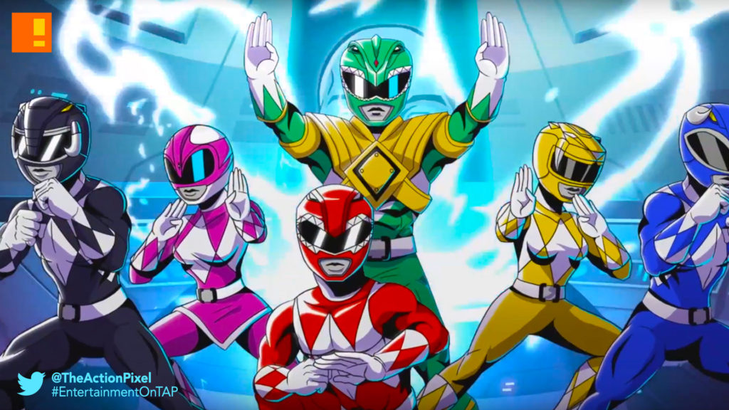 power rangers, the action pixel, entertainment on tap,
