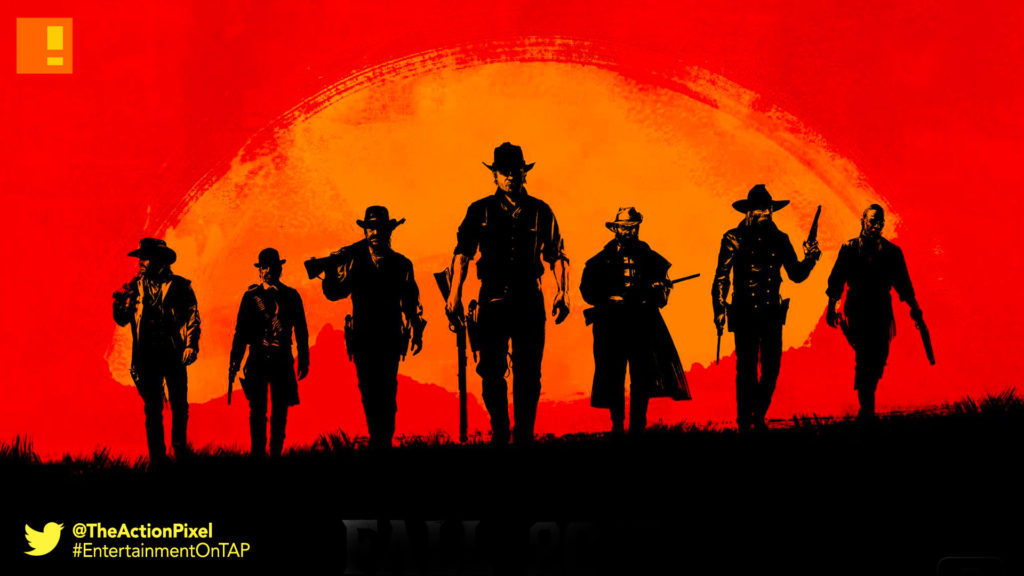 rockstar games, red dead redemption, entertainment on tap, the action pixel, rockstar games,