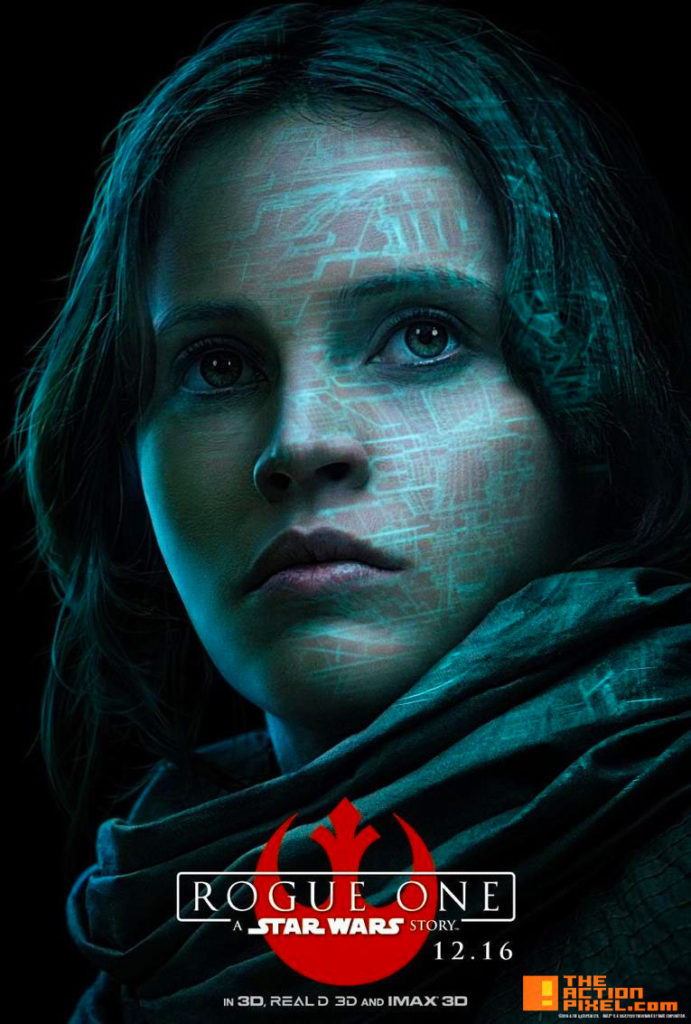 jyn erso, rogueOne, rogue one, star wars, the action pixel, entertainment on tap, disney, lucasfilm, entertainment on tap