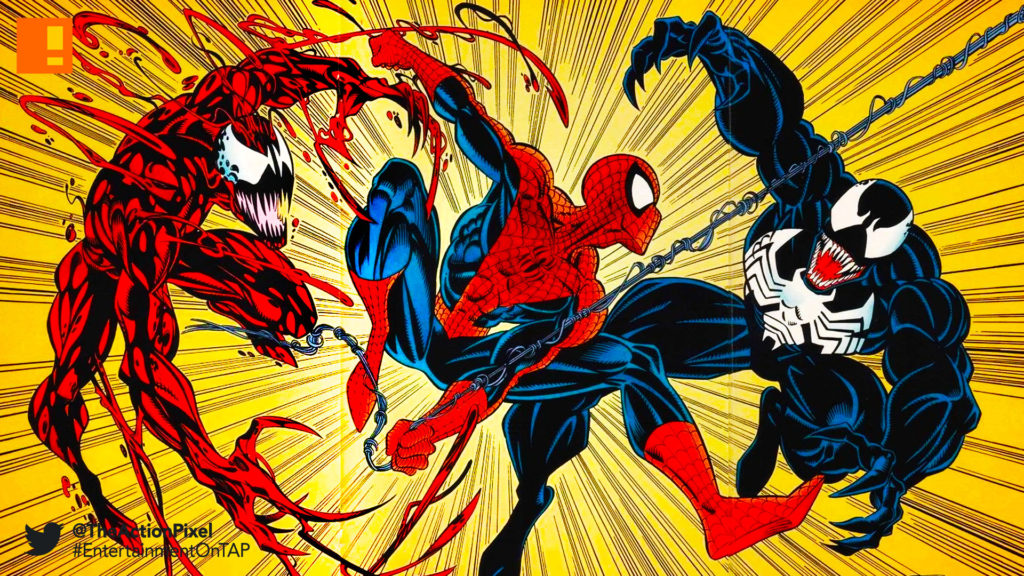 venom, sony , marvel, the action pixel, entertainment on tap, spider-man, spiderman, marvel comics