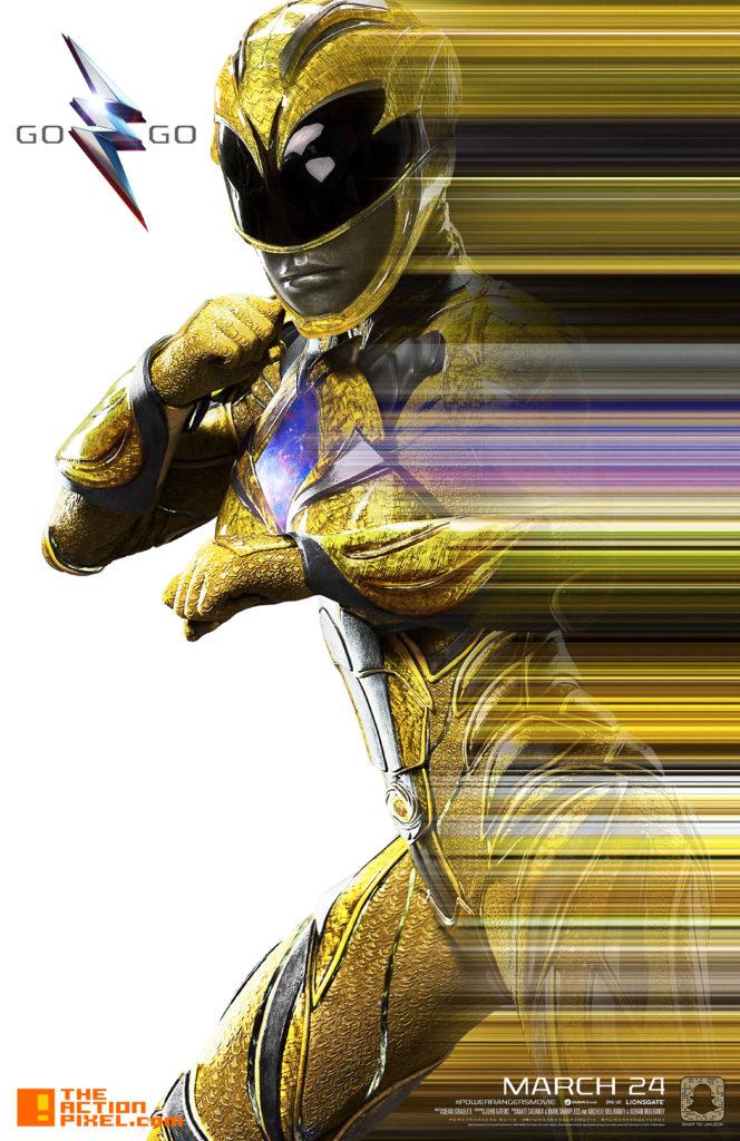 power rangers, saban, lionsgate, the action pixel, entertainment on tap, black power ranger, zord, trini