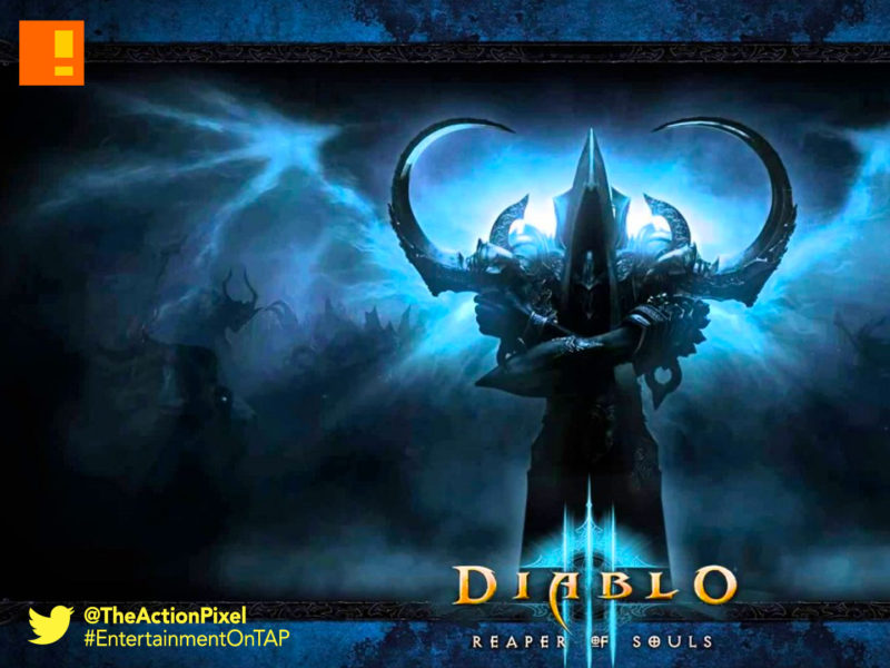 diablo 3, rise of necromancer, reveal, trailer, dlc, expansion pack, blizzcon 2016, blizzard, the action pixel, entertainment on tap