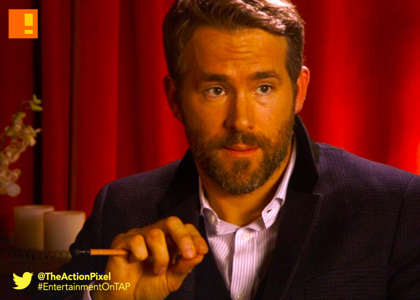 ryan reynolds, the action pixel, entertainment on tap,