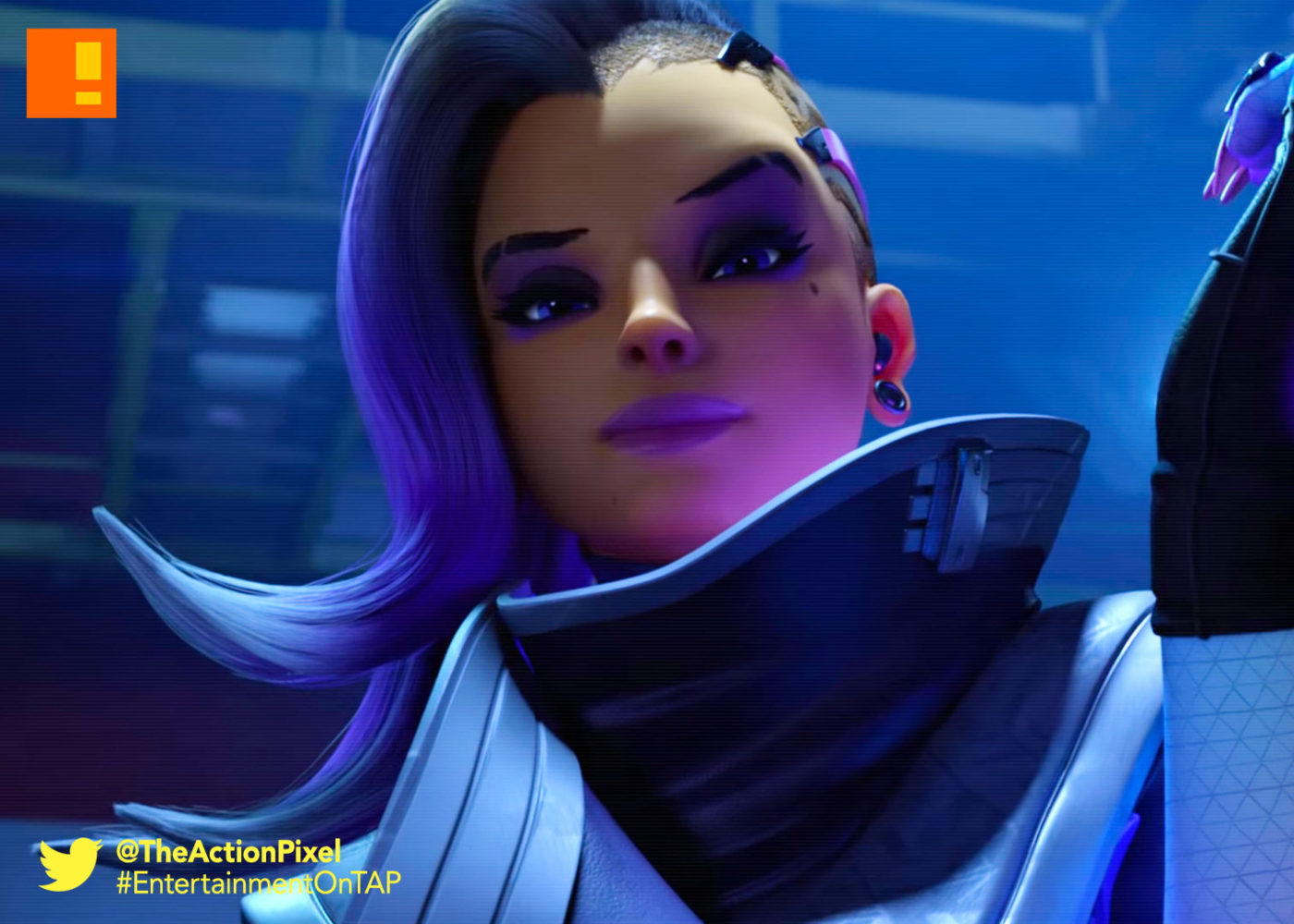 sombra, overwatch, the action pixel, infiltration , blizzard entertainment, blizzard,