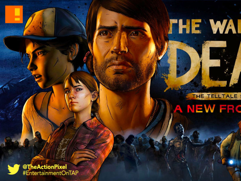the walking dead, a new frontier, twd, the telltale series, entertainment on tap, the action pixel, release date, premiere , season 3,