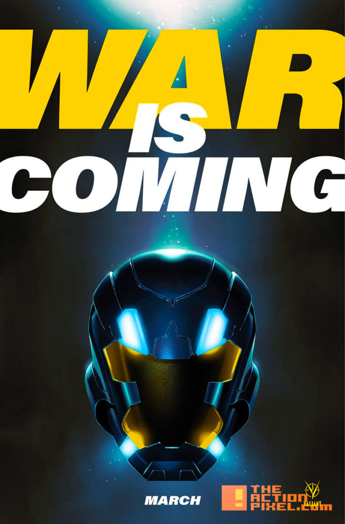 war is coming, x-o manowar, the action pixel, entertainment on tap,valiant  comics, teaser,