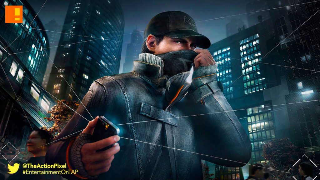 watchdogs, ubisoft, the action pixel, entertainment on tap