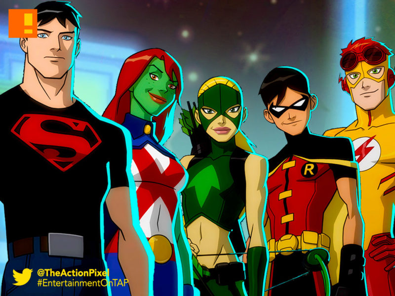 young justice, wb, warner bros. animation , warner bros, season 3, dc comics,dc entertainment ,