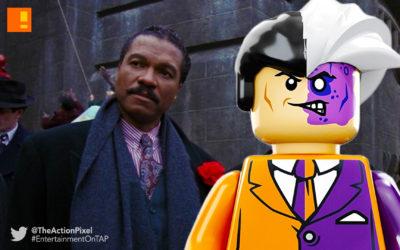 billy dee williams, two face, batman, lego, lego batman, the lego batman movie, the action pixel, entertainment on tap,