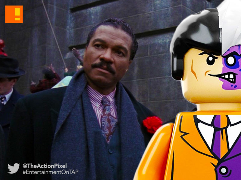 billy dee williams, two face, batman, lego, lego batman, the lego batman movie, the action pixel, entertainment on tap,