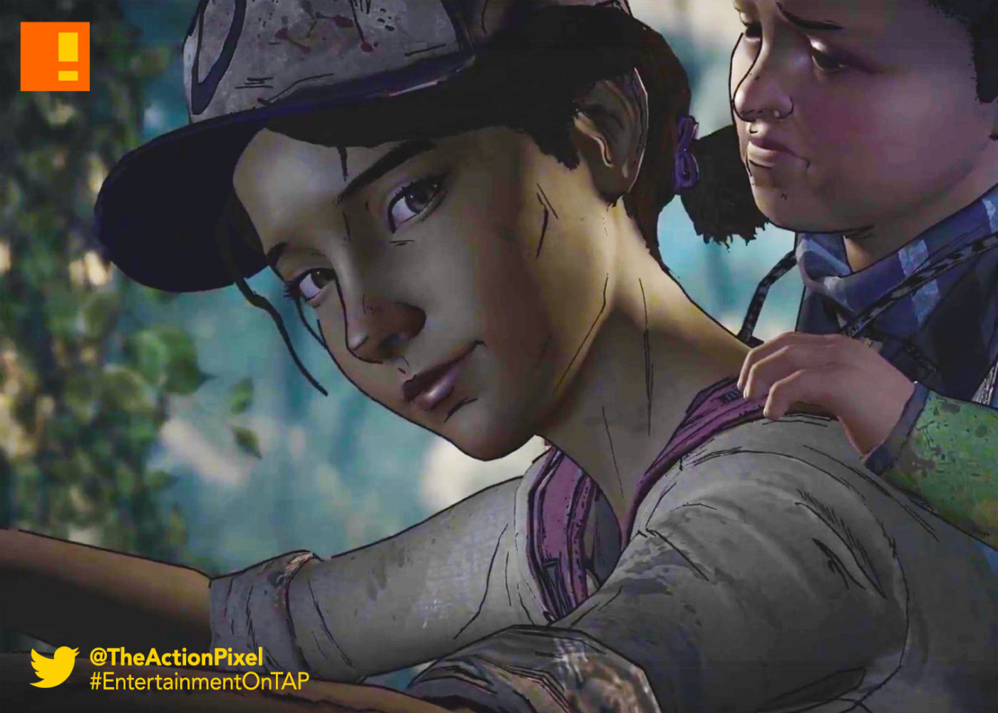clementine, AJ, the walking dead, a new frontier, the telltale series, telltale games, skybound, the action pixel, image comics, entertainment on tap, series, episode 3,