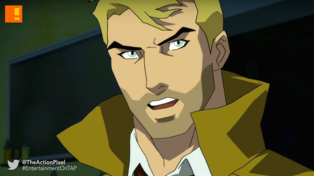 constantine, justice league dark, DC All Access , dc comics, wb animation , the action pixel, entertainment on tap,